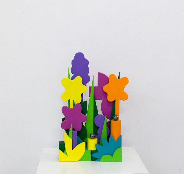 kidd_2014_Flowers-and-foliage_Balsa-wood-acrylic-paint-marbles-glue_39-x-24-x-8cm.jpg