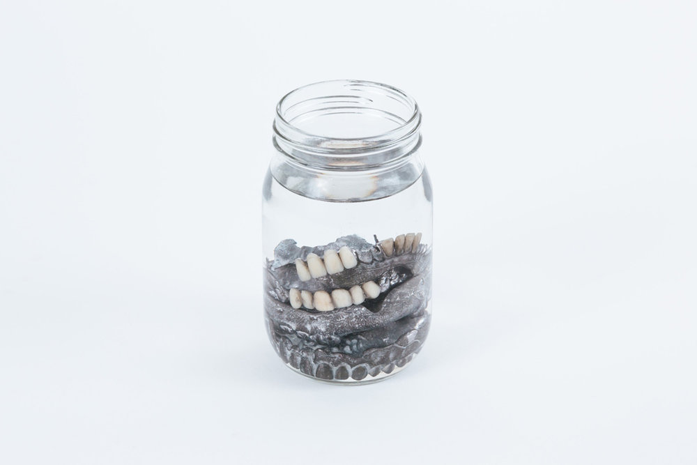 Michael Needham 'Jar of Dentures'