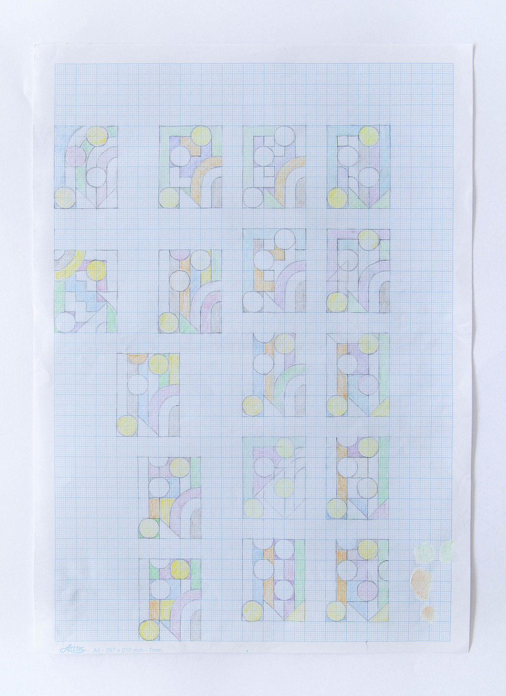 Untitled (study for pattern making)