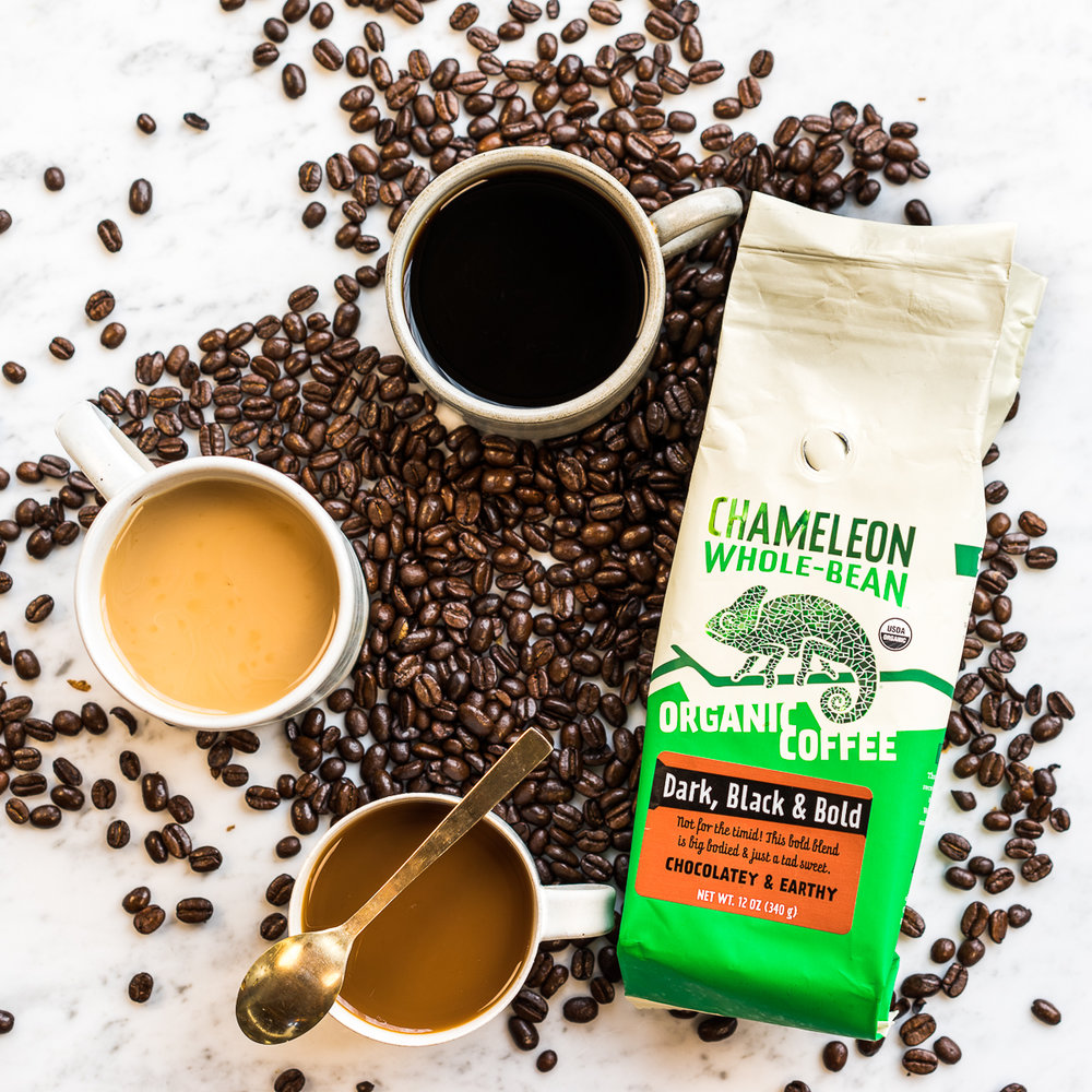 Chameleon Cold Brew - Product Launch Photo Shoot