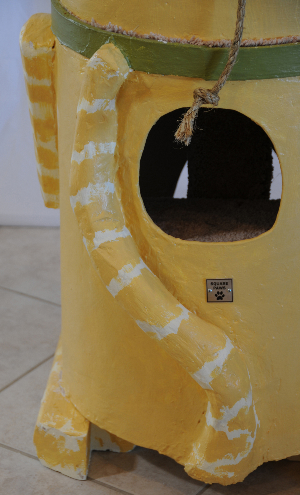 Square Paws Totem Pole
