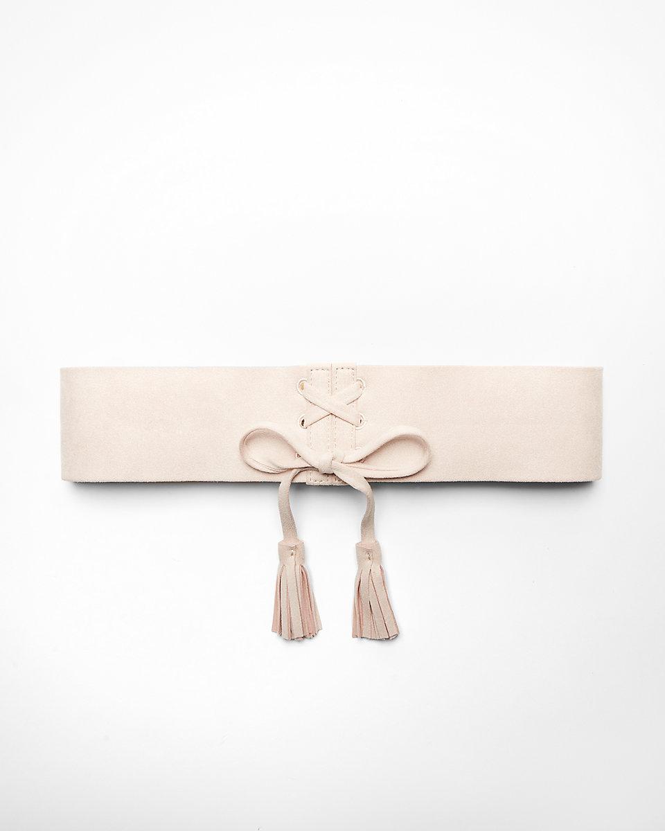 ExpressLace up corset belt$39.9 - AT EXPRESS
