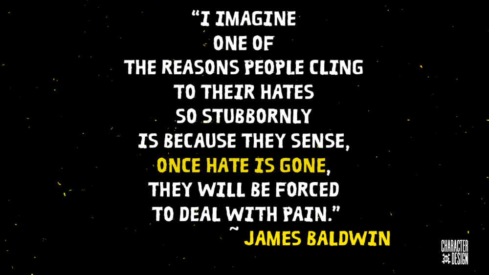 cling to hate James Baldwin.png
