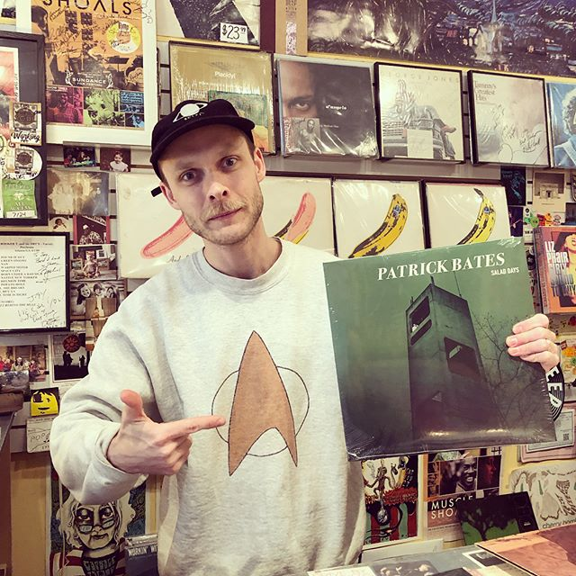 Salad Days is available at @groovedeep @steadysounds and @plan9music  Support local business and grab a copy today!