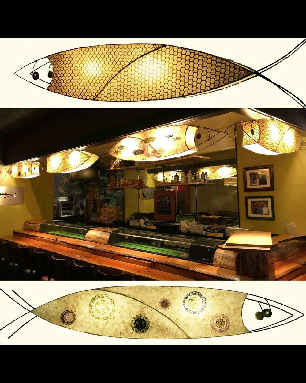 """Sakana"" Miyabi Sushi Restaurant, Seattle."