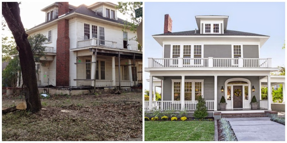 Before And After From Magnolia Homes In Waco