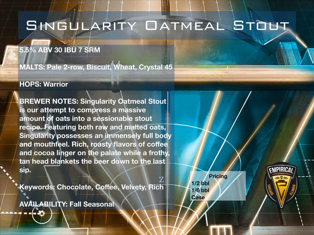 Empirical Brewery Singularity Oatmeal Stout Sell Sheet.jpg.jpg