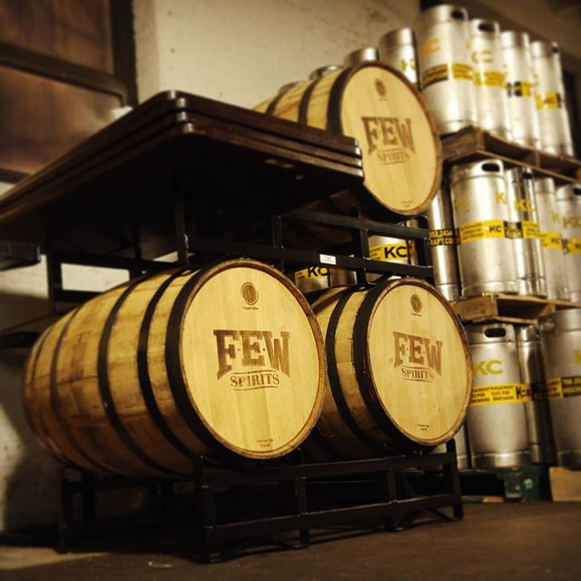 Who's ready for gin barrel aged Gamma-Ray ginger wheat ale!? #empiricalbrewery #chicago #craftbeer