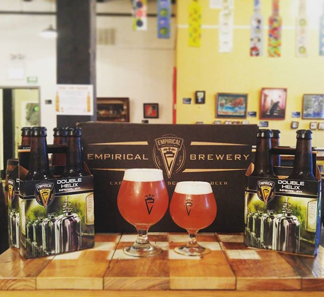 Who loves our Double Helix Imperial IPA? We've got some serious specials going on for this liquid candy right now! #empiricalbrewery #chicago #craftbeer #doublehelix #imperial