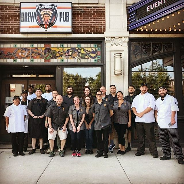 Who's excited to meet the new Empirical Brew Pub team? #empiricalbrewery #empiricalbrewpub #chicago #craftbeer #food