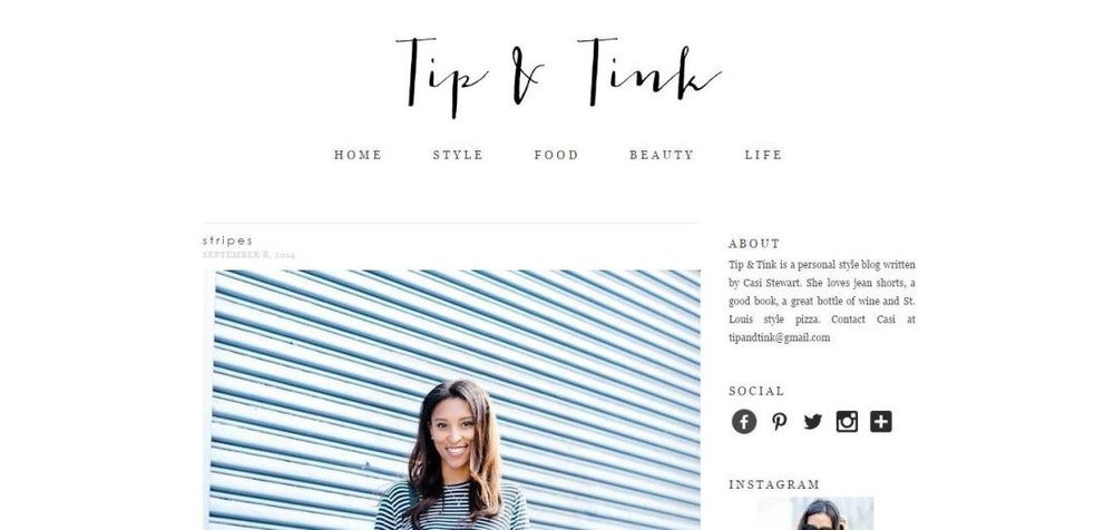 Tip & Tink Blog