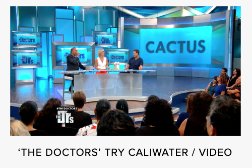 CALIWATER THE DOCTORS CACTUS WATER