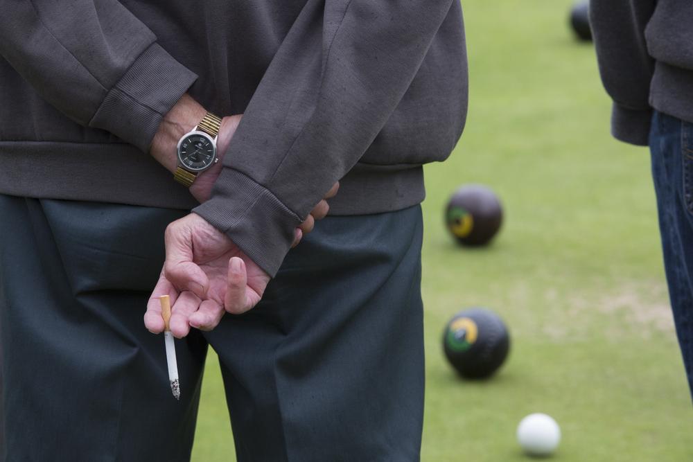 Bowls at the Maitland Bowling Club.