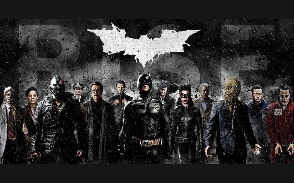 The Dark Knight Trilogy Love Letter