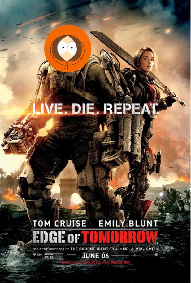 #16 Edge of Tomorrow (Live. Die. Repeat)