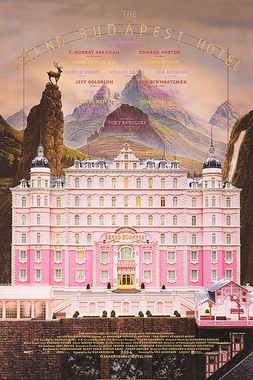 #7 The Grand Budapest Hotel