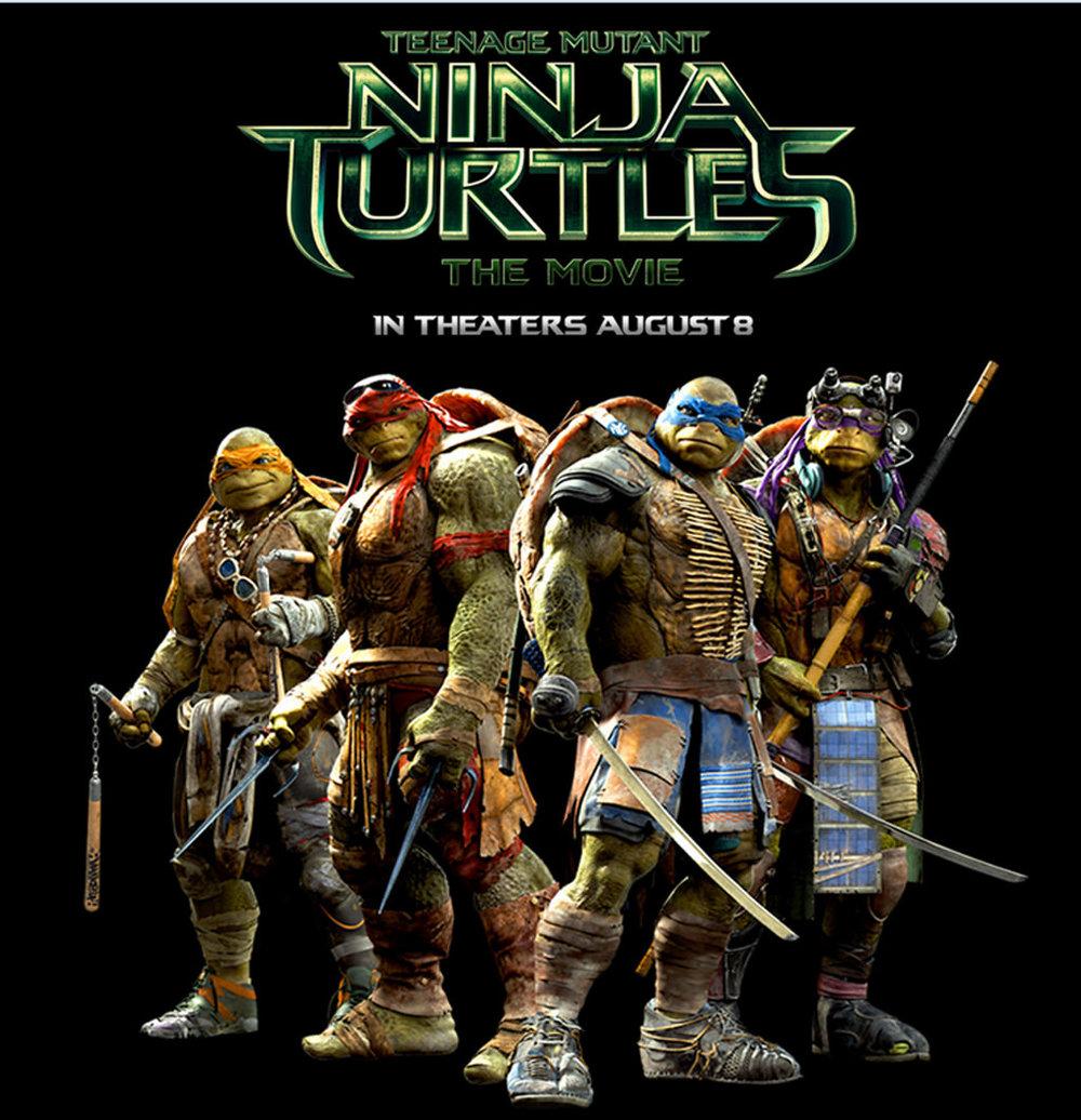 #8 Teenage Mutant Ninja Turtles