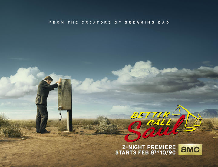 Better Call Saul now on Monday nights on AMC