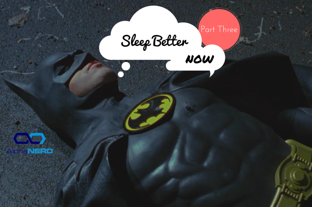 Batman Sleeping
