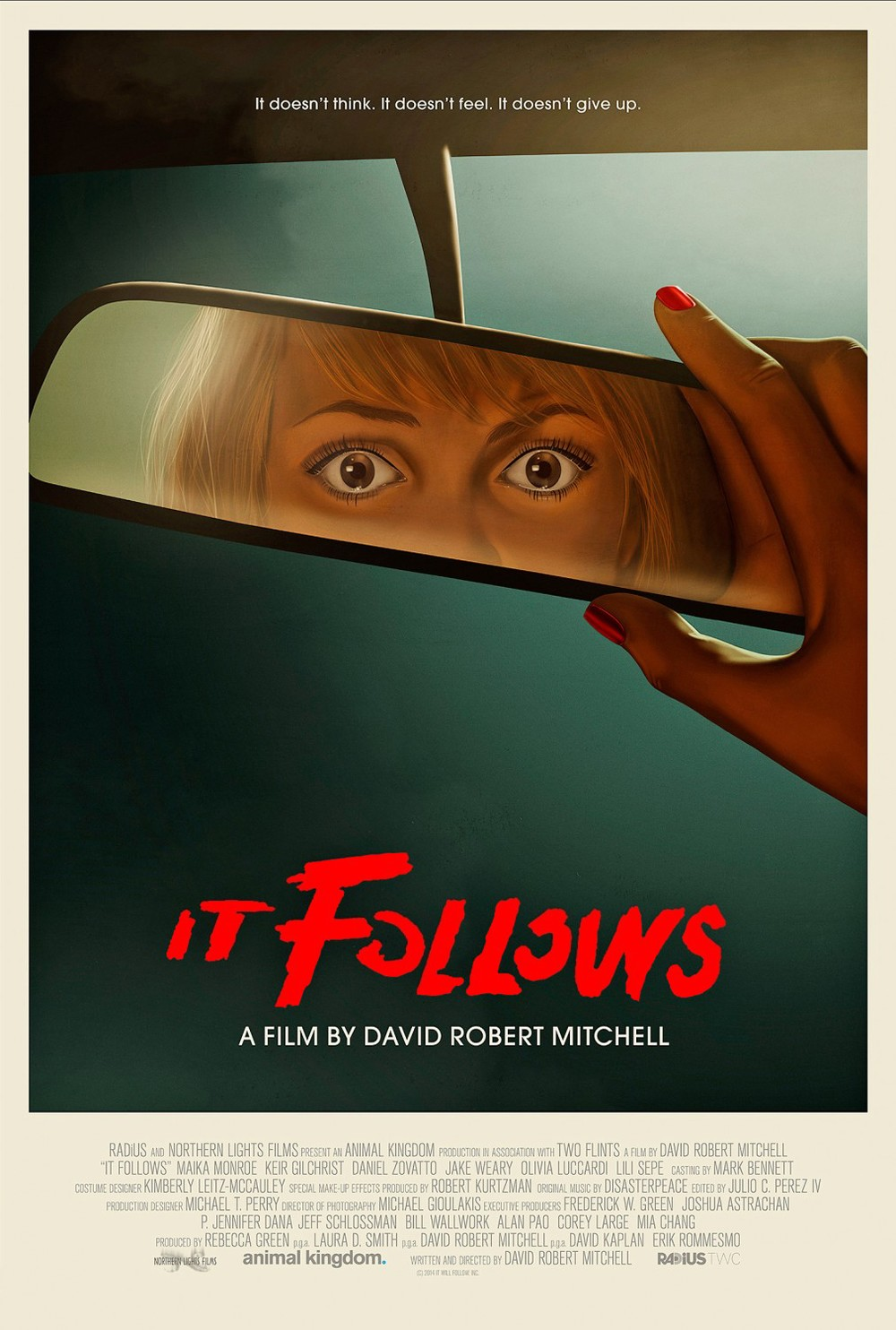 'It Follows' Retro Movie Poster