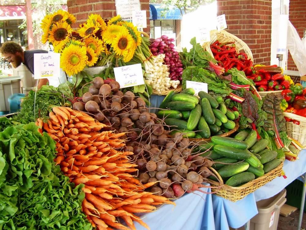 Fresh, Organic Produce