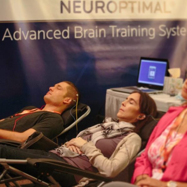 Trying out biofeedback with Neuroptimal