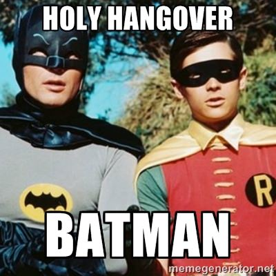 Holy Hangover Batman
