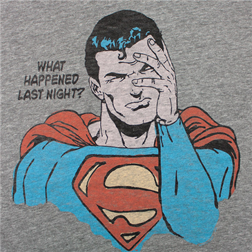 Beer is Kryptonite?!  Say it ain't so!