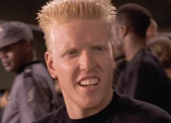 Jake Busey in Starship Troopers