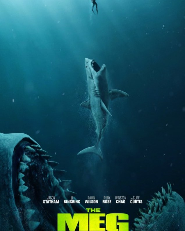 Check out Marc's review of THE MEG only at www.AlphaNerd.co 🏊‍♀️🦈🏊‍♂️