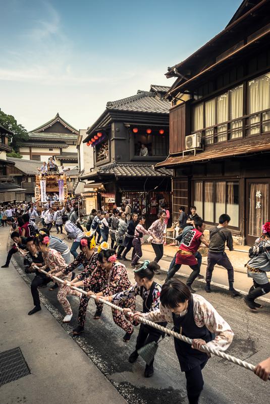 成田祇園祭      Anthony Wood ©2014