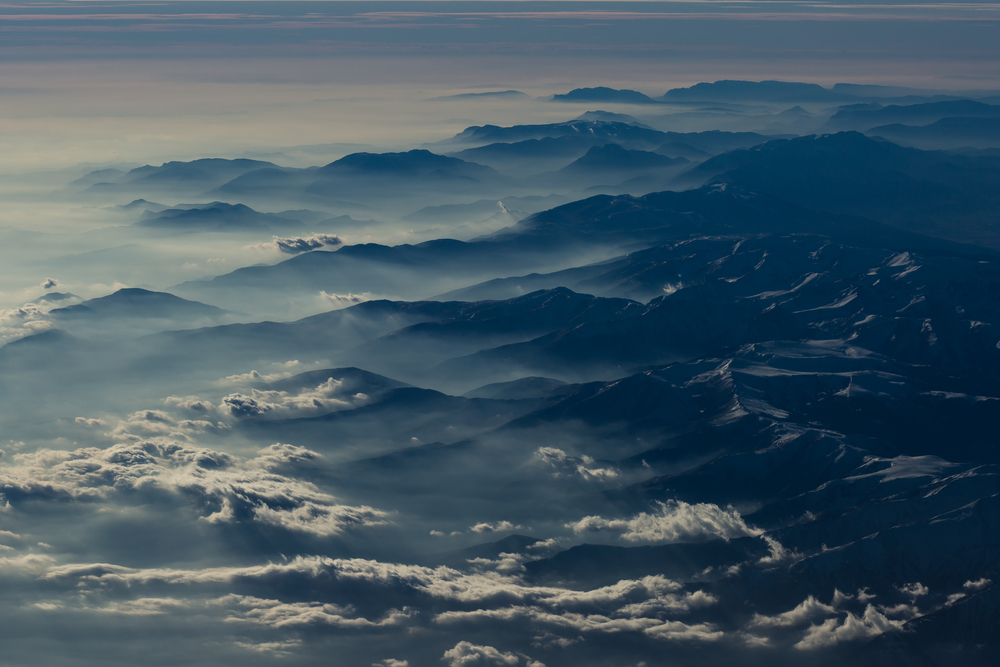 Pyrenee mountains rising out of the mist.jpg