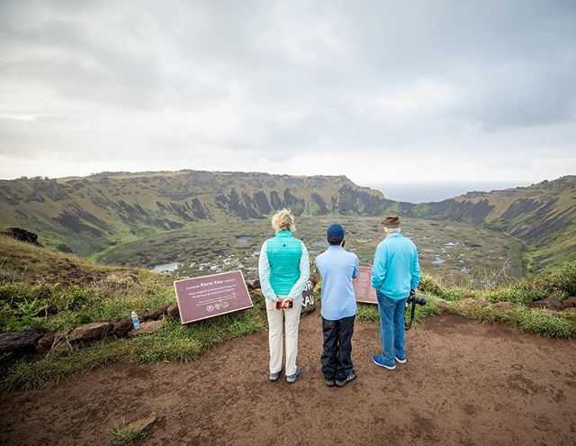 Quick visit to Rano Kau before heading off to New Zealand #akprivatejet @aktravel_usa . . . . . . . . #travel #traveling #vacation #visiting #instatravel #instago #instagood #trip #holiday #photooftheday #fun #travelling #tourism #tourist #instapassport #instatraveling #mytravelgram #travelgram #travelingram #igtravel