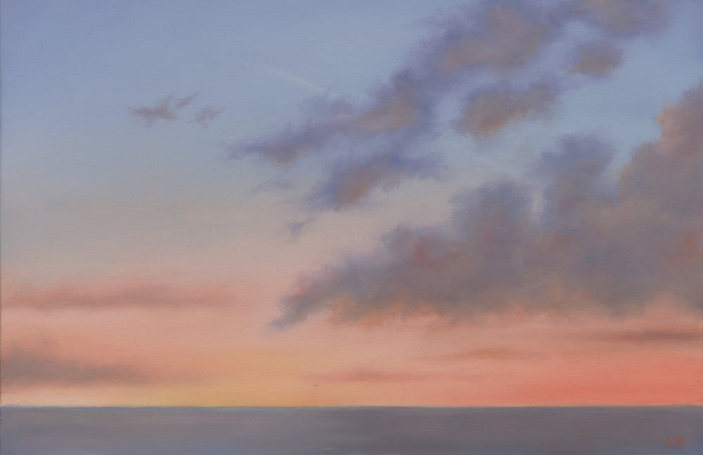 Sunset over Cardigan Bay (Sold)