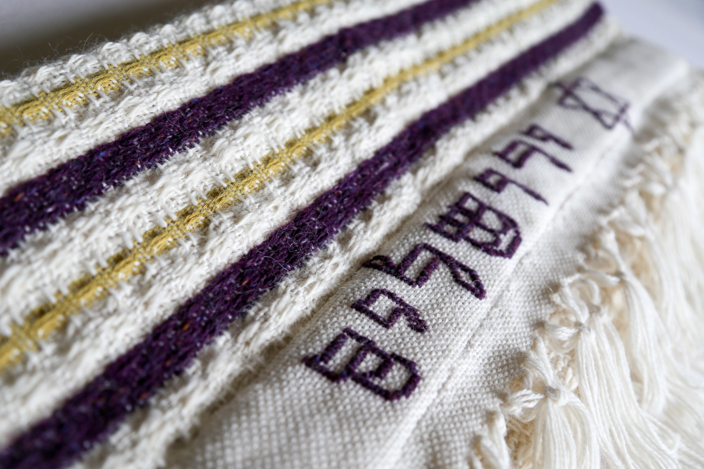 The Deborah Prayer Shawl — The Woven Way