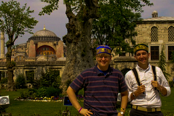 Sportin' fezessess in Istanbul.