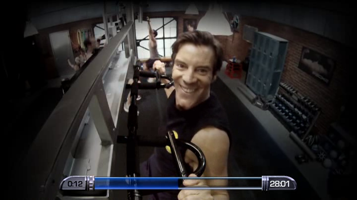 Tony Horton pulls up!
