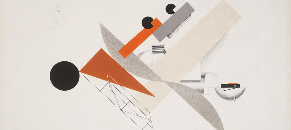 Crop of '5. Globetrotter (in Time)', 1923, El Lissitzky, Public Domain, Photo ©  Tate , Licensed under CC-BY-NC-ND 3.0 (Unported)