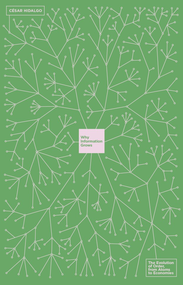 Why Information Grows  by Cesar Hidalgo, design by  Richard Green