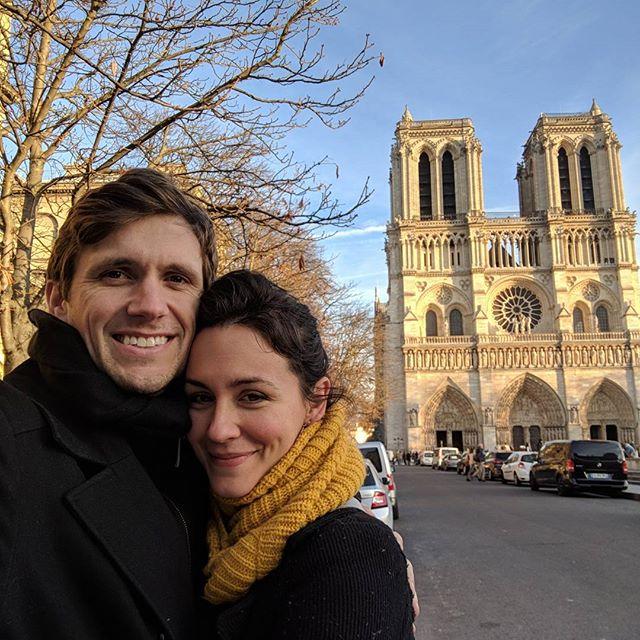 Notre Dame full. #parisamour