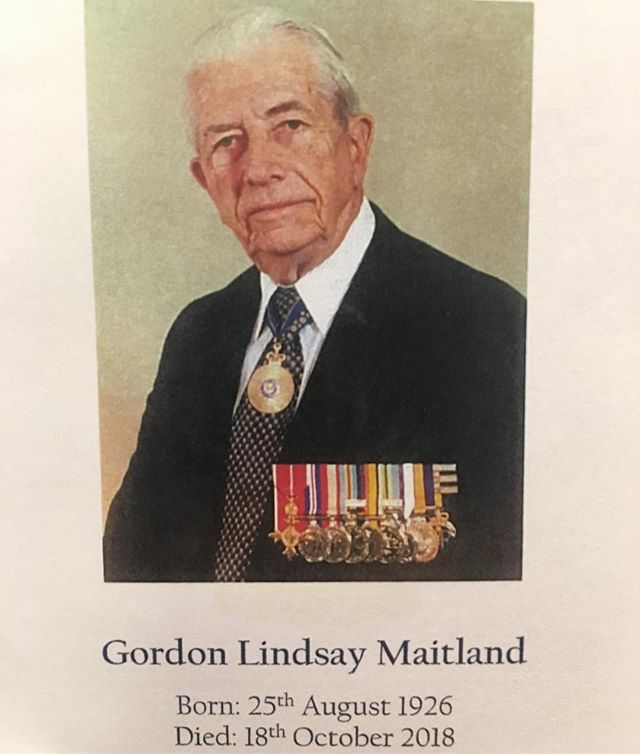 VALE Major General Gordon Lindsay Maitland AO, OBE, RFD, ED.  Gordon was a very important person to the Hills District Pipe Band. Through his membership on the Dawn Service Committee he arranged for our band to be the official Pipe Band for the Martin Place ANZAC Day Dawn Service in Sydney each year. Our band has played at the Dawn Service for nearly 20 years.  Gordon became the Honorary Patron of the Hills District Pipe Band in 2007, and instigated the Patron's Award; awarded annually to an outstanding band member. He was always very supportive of the band; we will miss his passion, respect and friendship.  Today members of the Hills District Pipe Band, the City of Maitland Pipes and Drums, Parramatta RSL Caledonian Pipe Band and Sydney Thistle Highland Pipe Band joined together to play at Gordon's military funeral and wreath laying in St James Church and Martin Place.