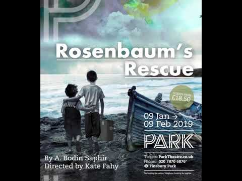 ROSENBAUM'S RESCUE - In Dec 2018 I will be composing the score for this new play by Alexander Boden Saphir - A fascinating story about the Jewish resistance in Denmark during WWII.
