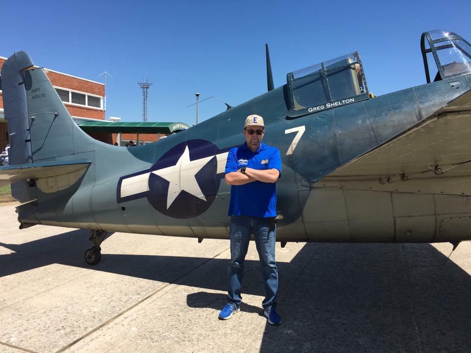 Dougo at air field.jpg