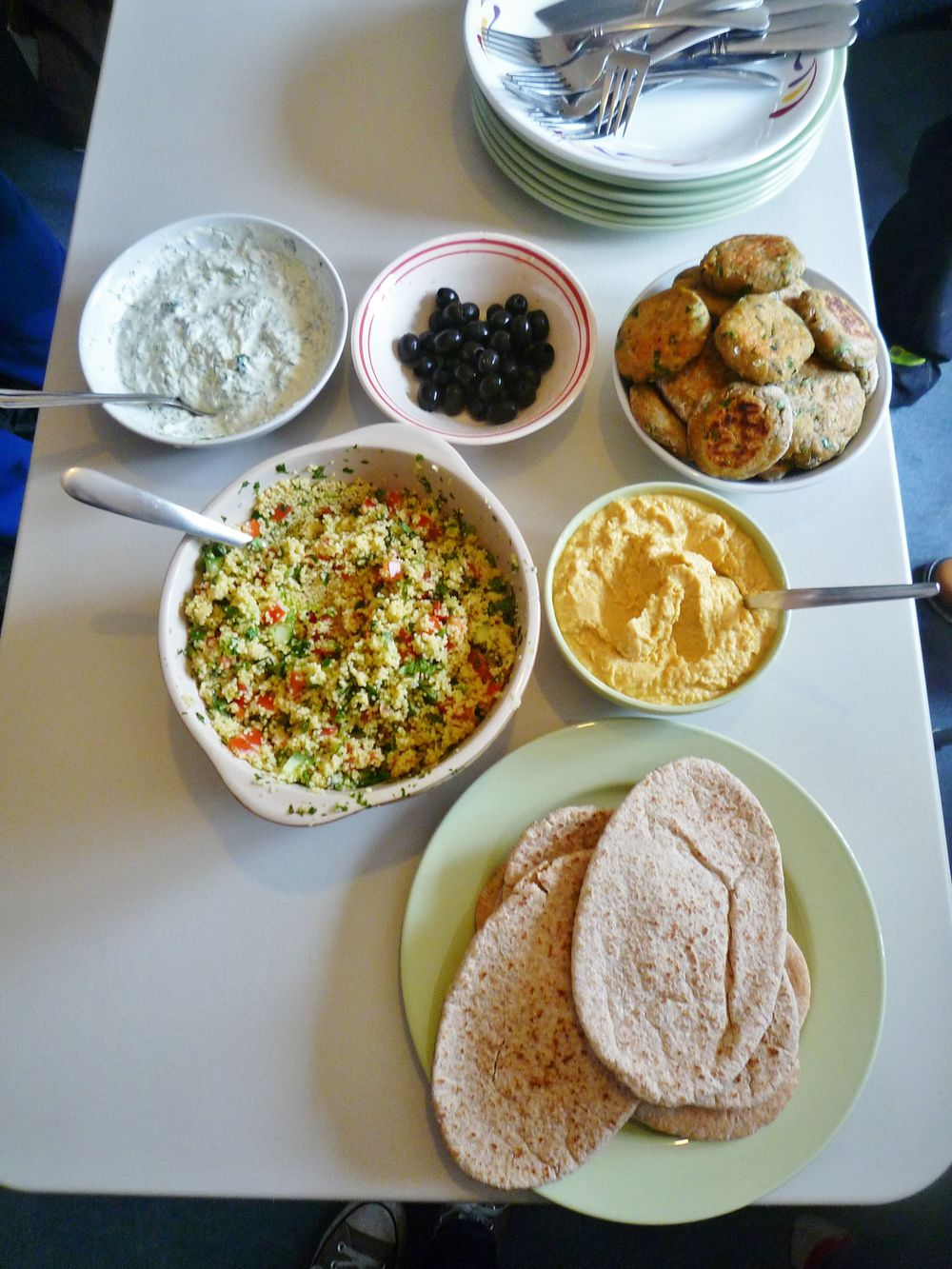 A Delicious Middle-Eastern Lunch