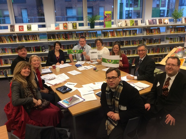 Alison Bradley, attending the recent FAITH 2017 Steering Group meeting at Alsop High School