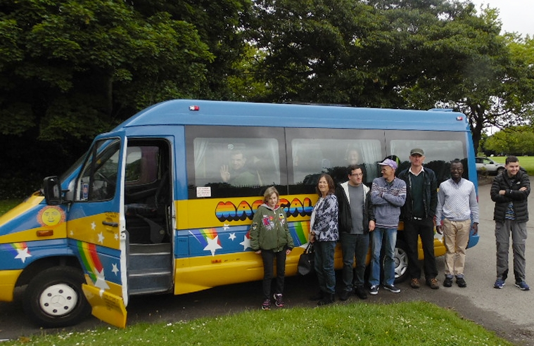 Our wonderful Magical Mystery Tour.