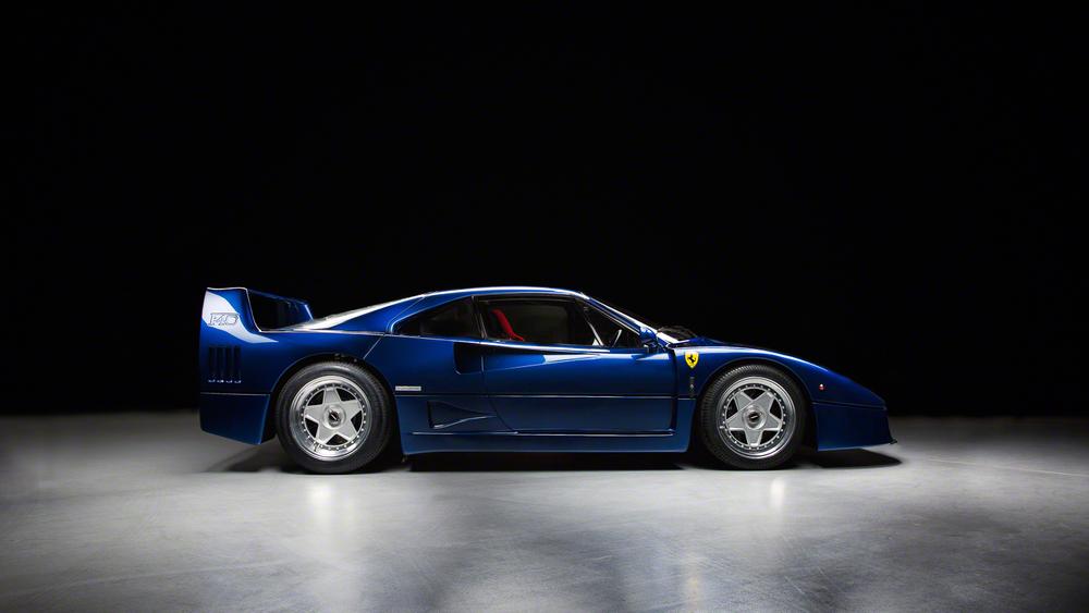 Ferrari F40 Blue Blu