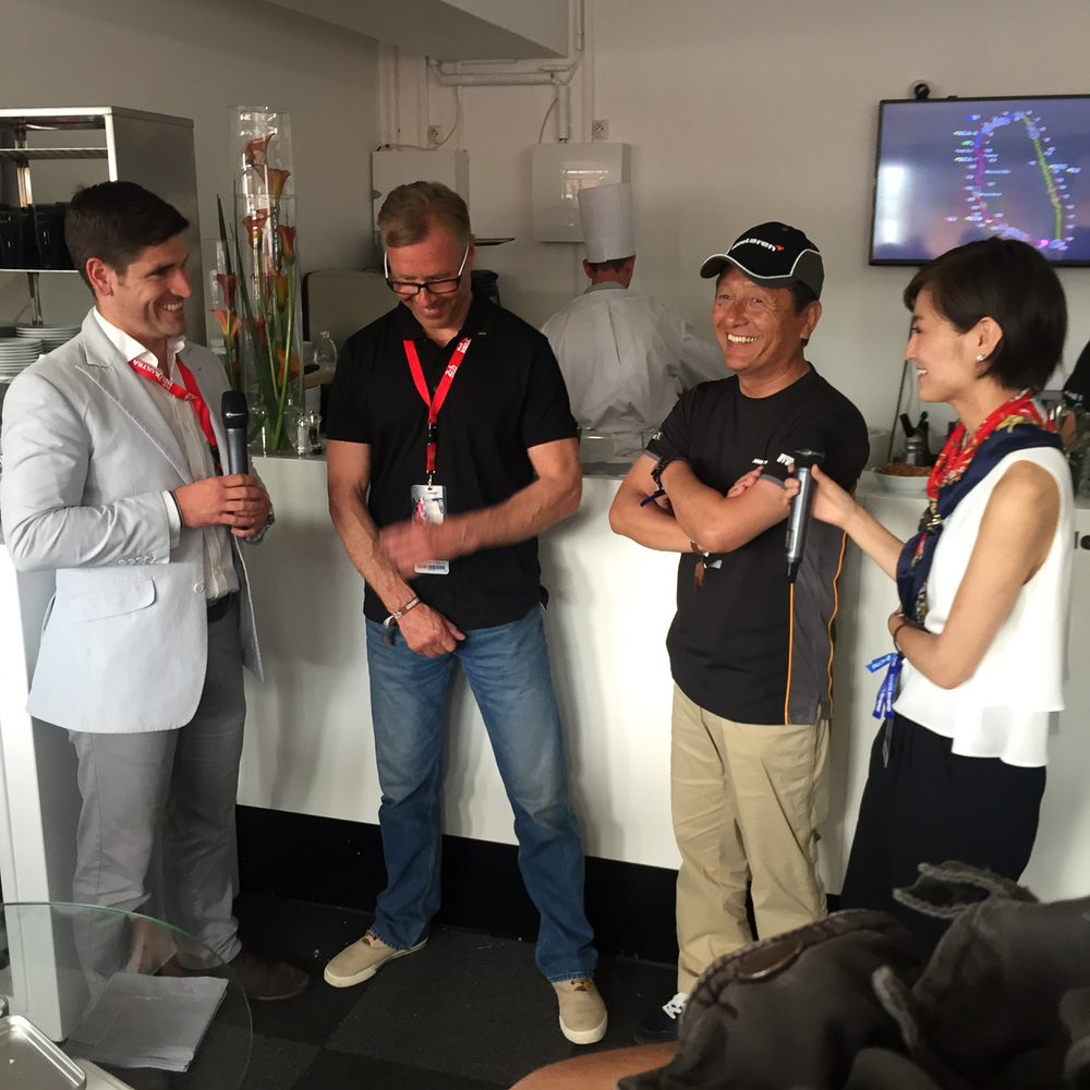 JJ Lehto and Masanori Sekiya telling amusing stories about winning Le Mans in the F1 GTR