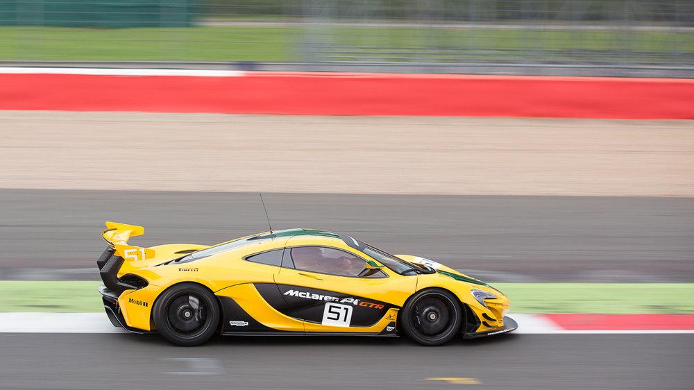 McLaren P1 GTR Silverstone
