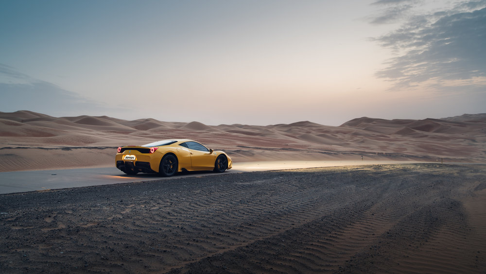 Ferrari 458 Speciale Desert